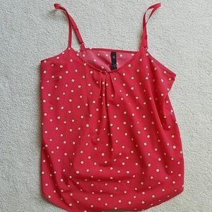 Polka dot camisole